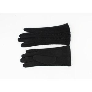 """Handschoenen """"Flores"""" zwart"""