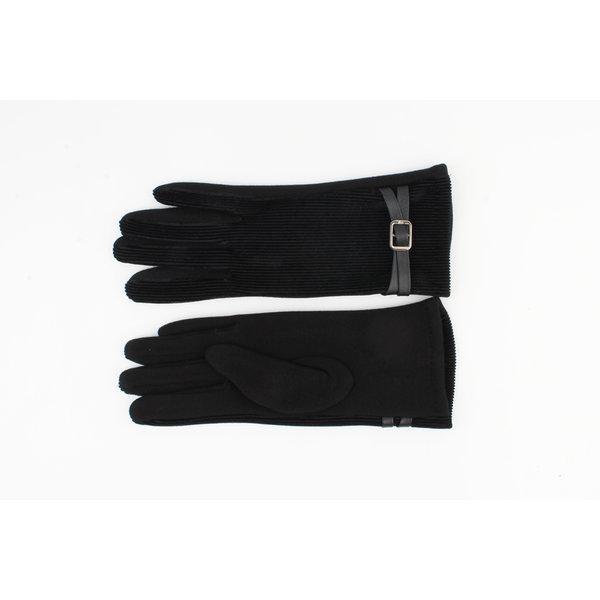 """Handschoenen """"Serrana"""" zwart"""