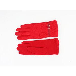 """Handschoenen """"Mirim"""" rood"""