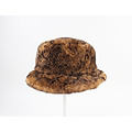 "Fur hat ""Merin"" in brown"