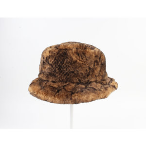 "Bonte hoed ""Merin"" bruin"