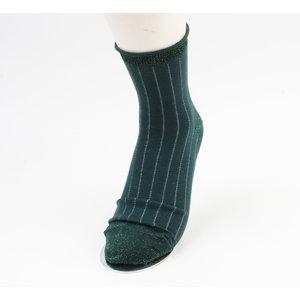 """Sokken """"Noblia"""" groen, per 2 paar"""