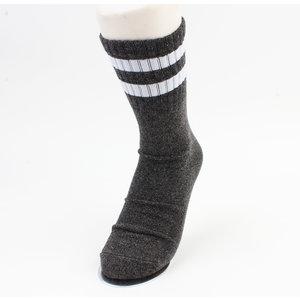 """Socken """"Ipora"""" anthrazit / weiß"""