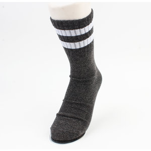 "Socks ""Ipora"" anthracite / white"