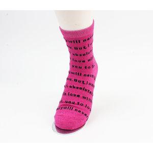 "Socks ""Corra"" pink"
