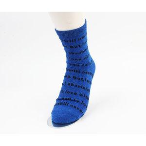 "Socken ""Corra"" blau"