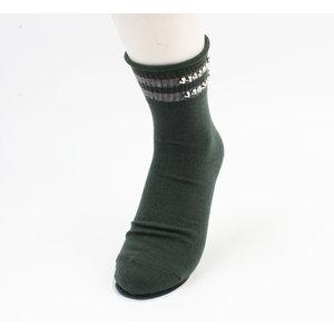 """Socks """"Vicha"""" green, per 2 pair"""