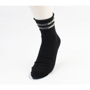 """Socken """"Vicha"""" schwarz, doppelpack"""