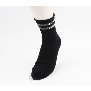 "Socks ""Vicha"" black, per 2 pair"