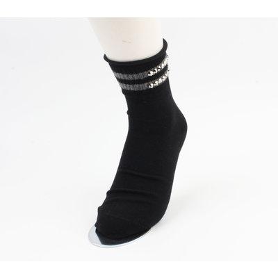 """Sokken """"Vicha"""" zwart, per 2 paar"""