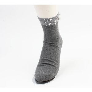 """Socken """"Melo"""" grau, doppelpack"""