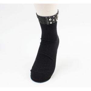 """Socken """"Melo"""" schwarz, doppelpack"""