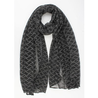 "Scarf ""Vacaria"" anthracite"