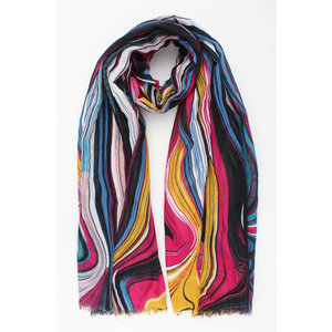 "Scarf ""Realeza"" pink"