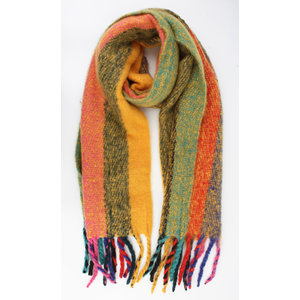 "Scarf ""Tupa"" yellow"