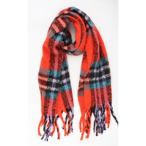 "Scarf ""Limeria"" red"