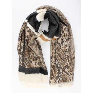 "Scarf ""Cocos"" brown"