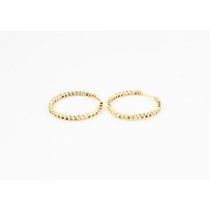 "Earring ""Eterna"" gold / multi"