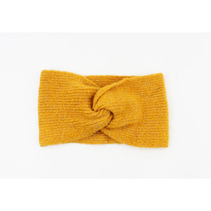 """Headband """"Petrolina"""" ocher yellow"""