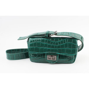 "Crossbody bag ""Cortina"" green"