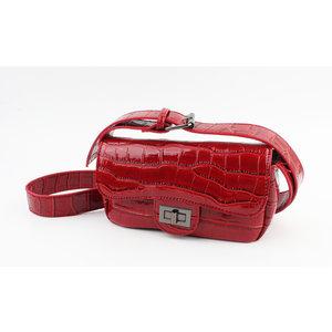 "Crossbody bag ""Cortina"" red"