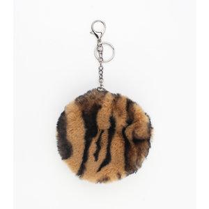 "Key/Bag chain ""Janauba"" brown"