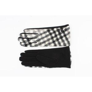 """Handschoen """"Arinos"""" zwart/wit"""