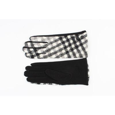 """Handschuhe """"Arinos"""" schwarz / weiß"""