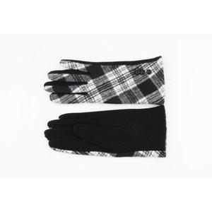 "Gloves ""Nara"" black / white"