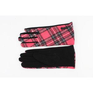 """Gloves """"Nara"""" pink"""