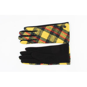 "Gloves ""Nara"" yellow"