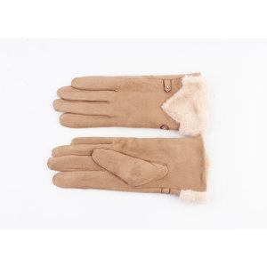 "Gloves ""Polis"" brown"