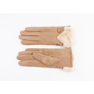 "Handschuhe ""Polis"" braun"