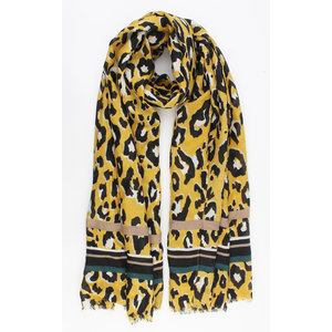 "Scarf ""Dutra"" yellow"