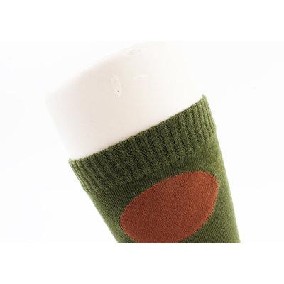 "Sokken ""Cati"" groen, per 2 paar"