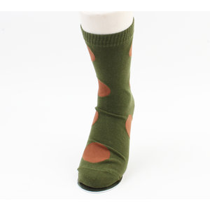 """Socks """"Cati"""" green, per 2 pairs"""