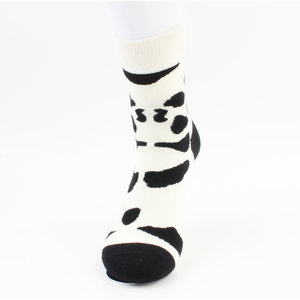 "Men's socks ""Floriano"" black / white, per 2 pairs"