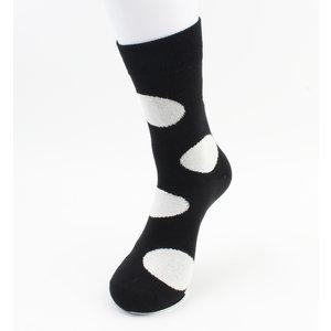 """Heren sokken """"Miguel"""" zwart/wit, per 2 paar"""