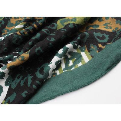 """Sjaal """"Floresta"""" groen"""