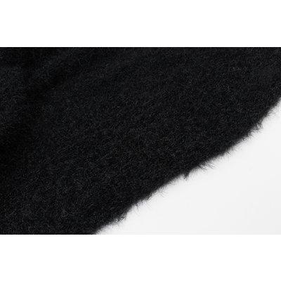 """Sjaal """"Kashua"""" zwart"""