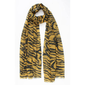 """Scarf """"Cete"""" yellow"""