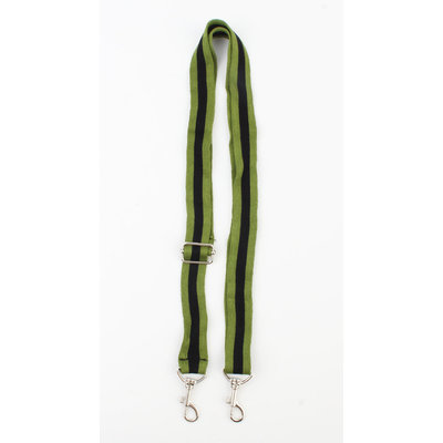 Carrying strap for phone case  green, per 3 pieces