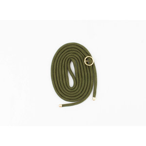 Cord for phone case  green, per 3 pieces