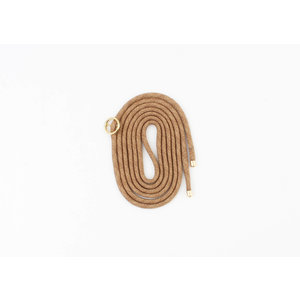 Cord for phone case  cognac, per 3 pieces