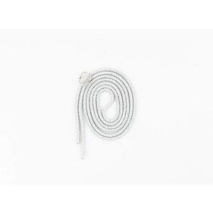 Kabel für Handyhülle  silber, je 3 Stück