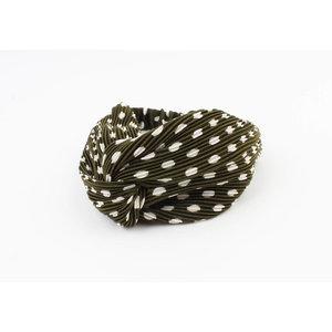 "Headband ""Bela"" green"