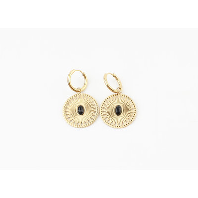 """Earring """"Pui"""" gold"""