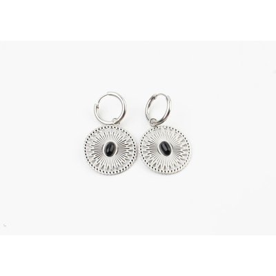 "Earring ""Pui"" silver"