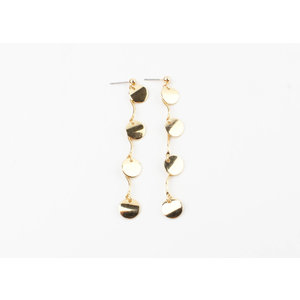 "Earring ""Caico"" gold"