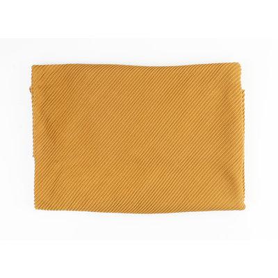 "Scarf ""Merida"" ocher yellow"